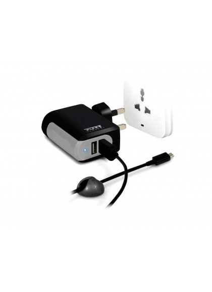 WALL CHARGER 2 USB + Cable Micro USB