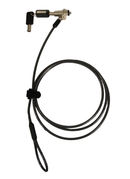 SECURITY CABLE KEYED - NOBLE WEDGE SLOT
