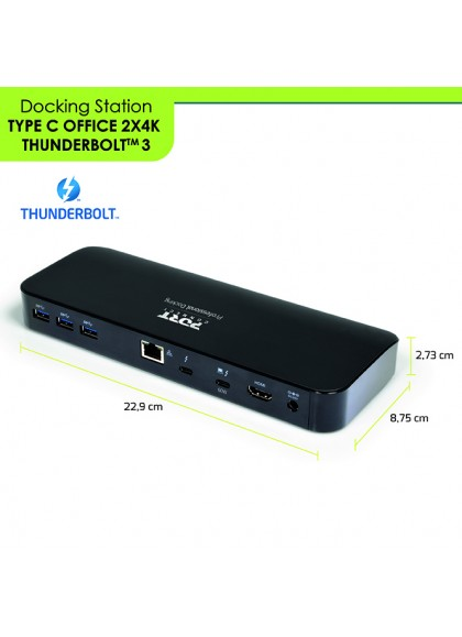 DOCKING THUNDERBOLT 3 - OFFICE 2 X 4K
