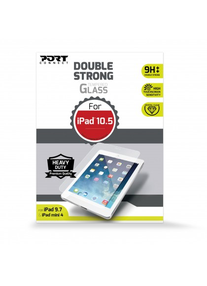 TEMPERED GLASS FOR IPAD MINI 4 DOUBLE STRONG