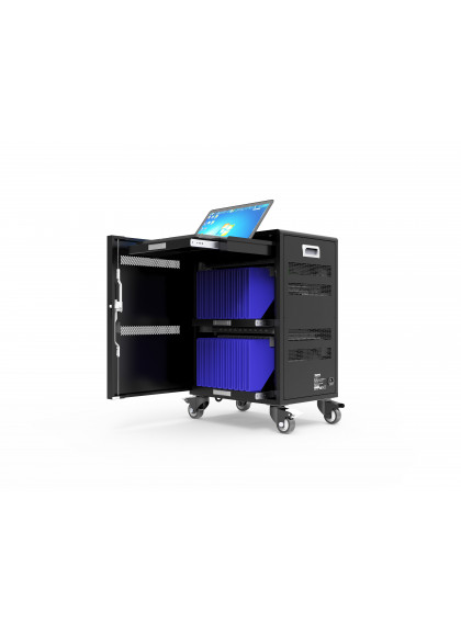 CHARGING CABINET FOR 20 TABLETS + 1 NOTEBOOK UP TO 17'