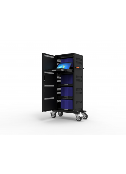 CHARGING CABINET FOR 40 TABLETS + 1 NOTEBOOK UP TO 17'