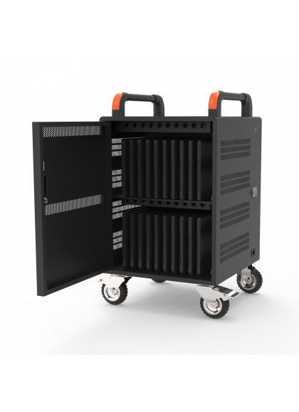 CHARGING CABINET FOR NOTEBOOK - 20 UNIT + RACK 19' - 1U