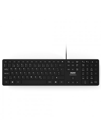 OFFICE KEYBOARD EXECUTIVE WIRED