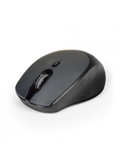 MOUSE WIRELESS SILENT PRO BLACK
