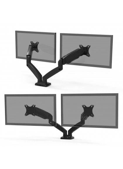DESK MOUNT DUAL MONITORS DISPLAY ARM