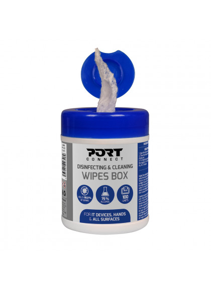 CLEANING WIPES BOX 100 UNITS