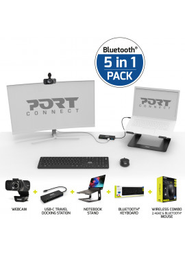 5-IN-1 HOME OFFICE PROFESSIONAL BLUETOOTH® SET