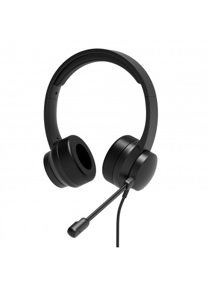 COMFORT OFFICE USB STEREO HEADSET WITH MICROPHONE