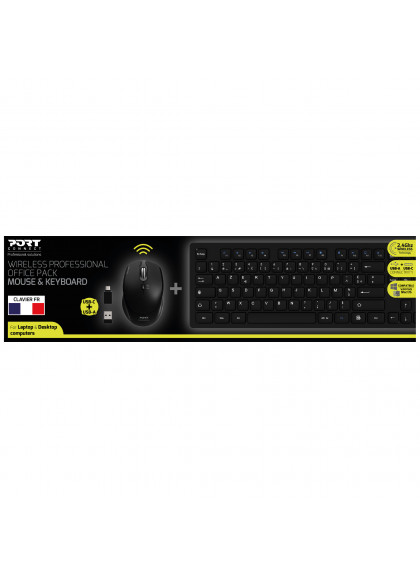 WIRELESS PROFESSIONAL OFFICE PACK: MOUSE & KEYBOARD