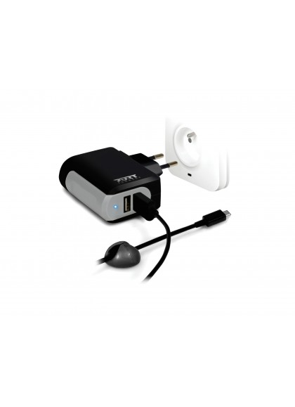 WALL CHARGER 2 USB + Cable TYPE C