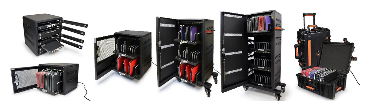 Our charging cabinet range