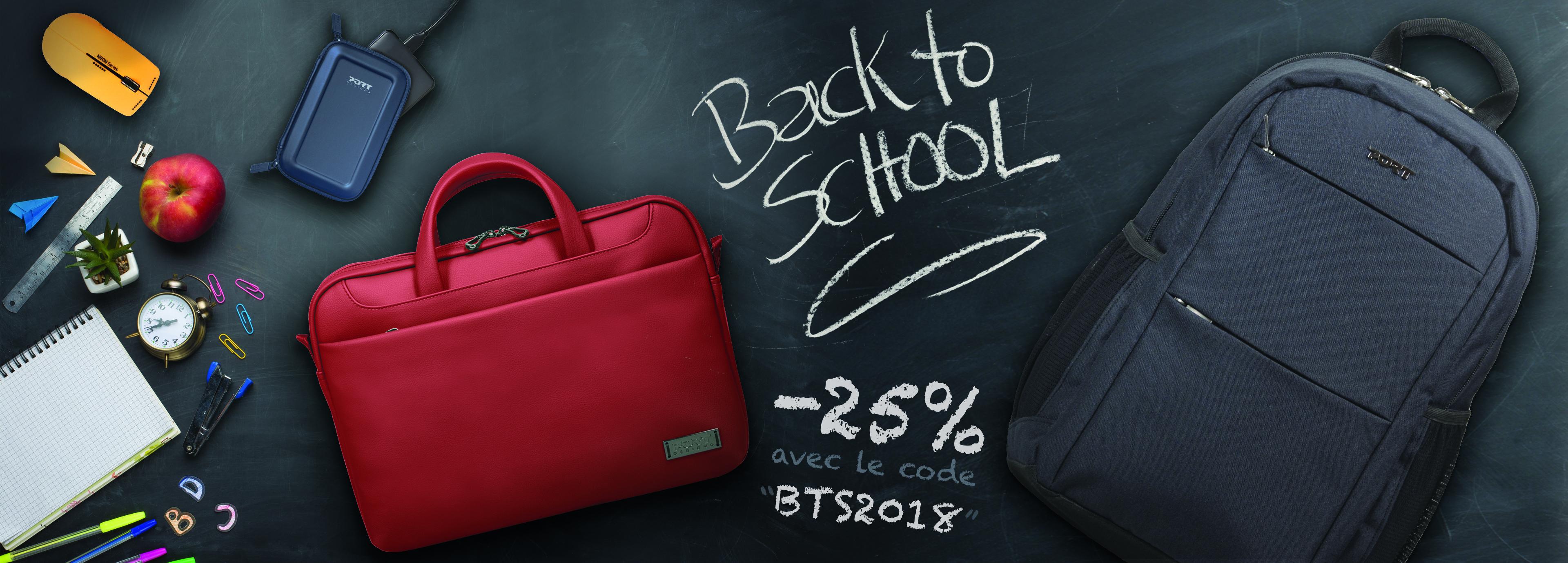 BACK TO SCHOOL -25% avec le code BTS2018