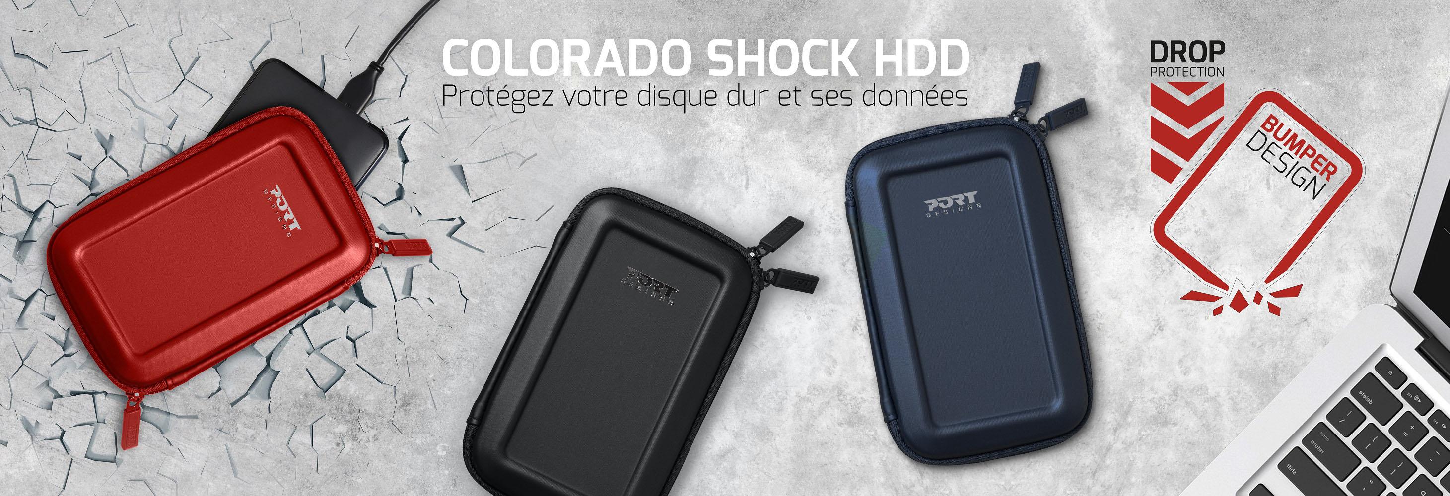 Colorado shock HDD